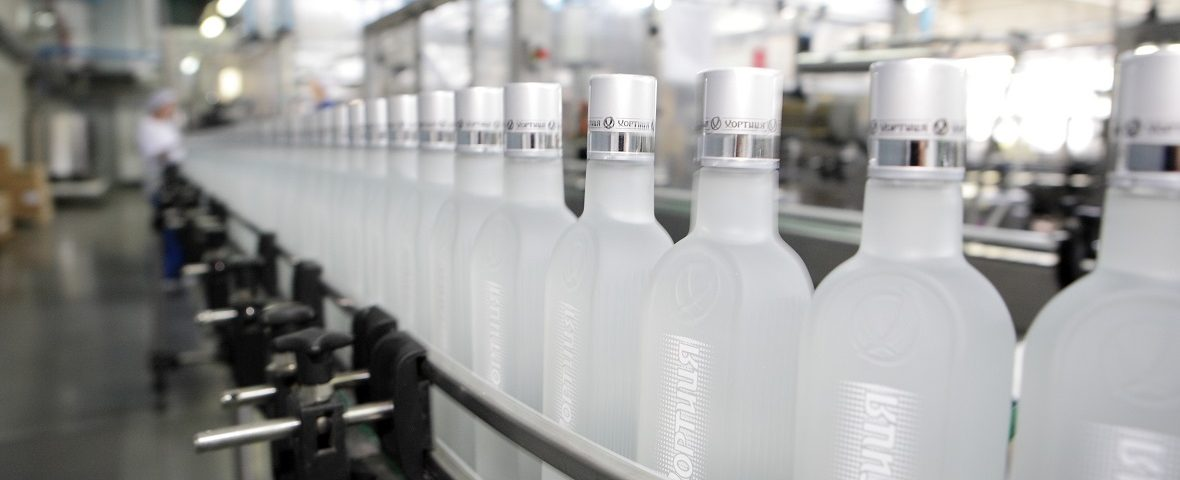 Production of equipment for vodka manufacturing