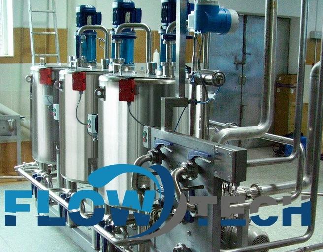 автоматические смесительные установки